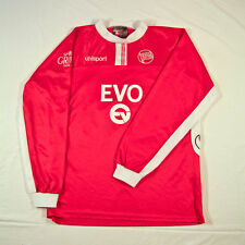 Kickers Offenbach Uhlsport Football Jersey Shirt Trikot Long Sleeve Match Worn