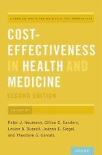 Cost-Effectiveness in Health and Medicine (Hardback or Cased Book)