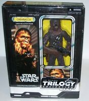 "Star Wars Original Trilogy Chewbacca 15"" Poseable Action Figure Doll NIB 2004"