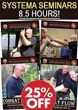 Hand-to-Hand Combat Dvd set - Street Self Defense Dvds - 8.5 hours of Training