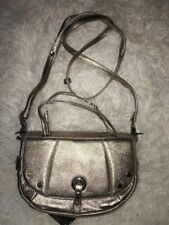 BODHI CROSS BODY-SHOULDER BAG CLASSIC CONVERTIBLE METALLIC GOLD LEATHER new