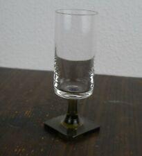 1970er Rosenthal Serie Berlin : Weinglas mit Rauchglasfuß 9,5cm Höhe: ca