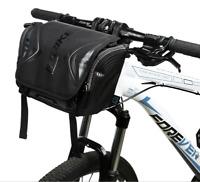 Waterproof Bike Bag Large Capacity Handlebar Front Tube Bag Bicycle Pocket Pack