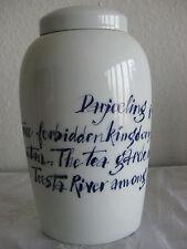 Teedose Rosenthal Twinings Collection 2006 Design Alan Fletcher Tea Caddy