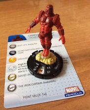 HeroClix Captain America #042  CRIMSON DYNAMO  MARVEL RARO