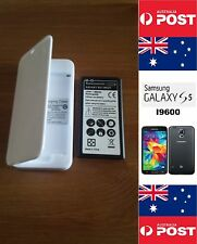 Samsung S5 I9600 White Charger Dock Kit With Quality Replacement Battery - Local