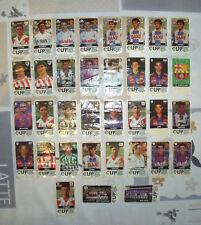 """LOTE """"35 CROMOS CHICLES LFP"""" FUTBOL 96-97 NUEVOS"""