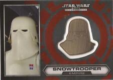 "Star Wars Chrome Perspectives - #19 of 30 Gold Helmet Medallion ""Snowtrooper"""