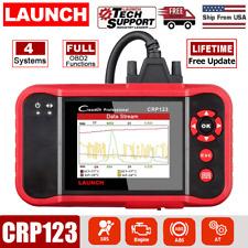 Check Engine OBD2 Scanner ABS SRS Transmission Code Reader Diagnostic Scan Tool