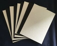 10 Glitter Card/A6/C6/250gsm-Sparkling Black and White-5 Sheets of each/DEFECTS