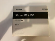 Sigma 30mm For / 1,4 Dc Dn Lens For Nikon