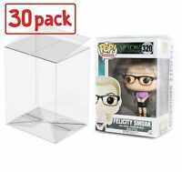 """FUNKO 4"""" POP PROTECTOR ACID FREE CRYSTAL CLEAR CASE 30-PACK"""