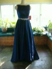 Navy Blue Formal Prom / Bridesmaid Gown - Size 10 - NWT