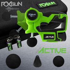 RxGUN ACTIVE Percussion 3 Tips Massage Gun Vibration Massager Therapy Device
