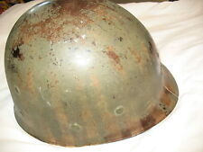 W@W! Been There Early High Pressure Wwii M1 Helmet Liner Firestone