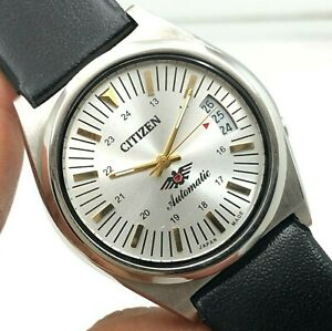 Gent's Citizen Cal. 8200 Date 36 mm Automatic 21-Jewels Wrist Watch B4020