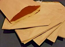 More details for brown / white kraft sulphite paper bags strung groceries sweets sandwich party