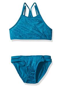 Gossip Girl Little Girls Swim Set Blue Size 14 item #102860