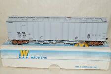 HO scale Walthers GACX Lease 50' airslide covered hopper car train