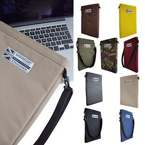Laptop Sleeve Carry Case Water-Resistant with Shoulder Strap Goodstart Jones