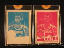 1977-78 Topps Basketball (2) Proof Kareem Abdul Jabbar