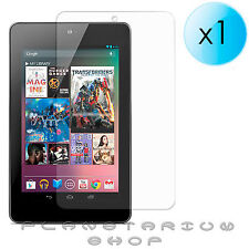 1x SHEET PROTECTOR SCREEN ULTRA CRYSTAL CLEAR FOR ASUS GOOGLE NEXUS 7 LCD