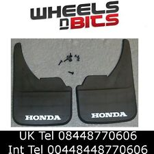 Honda Logo Universal Car Mudflaps Front Rear CR-Z FR-V HR-V Mud Flap Guard