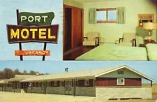 THE NEW PORT MOTEL SOUTH OF PORT WASHINGTON, WI 1950