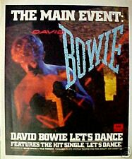 1983 David Bowie Rock&Roll EMI Record,Album Music AD