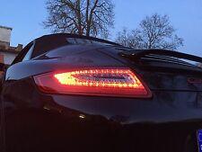 PORSCHE 911 997 04-08 LED RÜCKLEUCHTEN ORIGINAL DECTANE LINKS RECHTS ROT CHROM