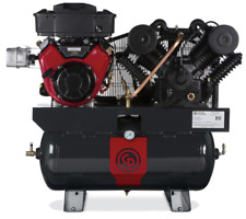 Chicago Pneumatic Rcp C1630g 16hp Gas 2stage 35cfm Truck Mounted Air Compressor