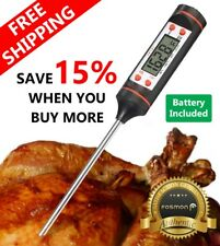 Digital Instant Read Food Meat Thermometer for Kitchen Cooking BBQ Grill Smoker