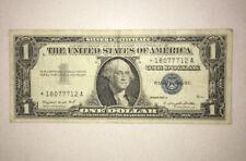 STAR NOTE 1957 $1 Silver Certificate Fine Condition