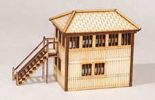 SB001 GNER Signal Box OO Gauge Laser Cut Kit