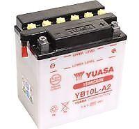 YUASA YB10L-A2 Battery with Acid