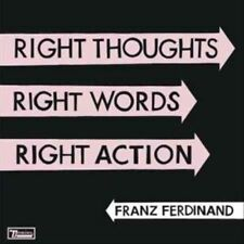 Franz Ferdinand Right Thoughts Right Words Right Action Double CD 23 Track Doubl