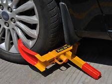 Parkkralle Radkralle Wegfahrsperre Diebstahlsicherung Reifenkralle Pkw Anhänger
