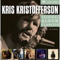 "KRIS KRISTOFFERSON ""ORIGINAL ALBUM CLASSICS"" 5 CD NEU"