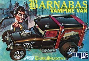 discontinued 2011 MPC 763 Barnabas  Vampire Van model kit from Dark Shadows new