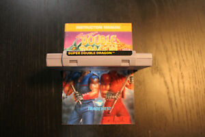 Super Double Dragon SNES Super Nintendo authentic with manual