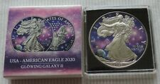 USA American Eagle 2020 Glowing Galaxy II Liberty 1 oz silver coin only 100 pcs