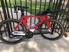 CERVELO P5 Triathlon Bike Dura-Ace Di2 (48cm) Carbon HED Wheelset! Tri