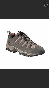 Columbia Sawtooth Leather Mesh Wicking Trail Hiking Shoe Tan 6.5 Support Comfort