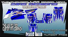 YAMAHA RAPTOR 250/350/660/700 BANSHEE GRAPHICS DECALS