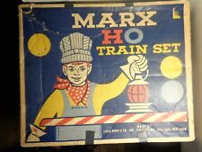 MARX 1950'S VINTAGE HO SCALE NEW YORK CENTRAL ELECTRIC TRAIN SET 17522  5-0-15