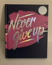 """""""Never Give Up� Guided Fitness Journal"""