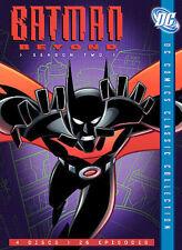 Batman Beyond - Season 2 (DVD, 2006, 4-Disc Set, Digipak Copy Protected)