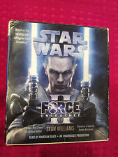 Star Wars The Force Unleashed II by Sean Williams Audiobooks CDs - VGC! AXL