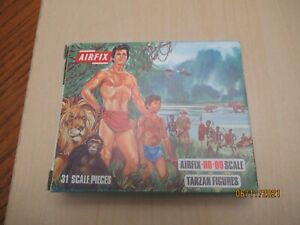 Airfix #S33-50 Tarzan Figures 31 Pieces yellow color considered loose complete