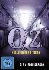 6 DVDs * OZ - HÖLLE HINTER GITTERN - STAFFEL / SEASON 4 # NEU OVP +